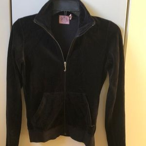 Juicy Couture Track Luxe Velour fitted Jacket